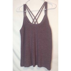 Crossed Neck American Eagle Tank